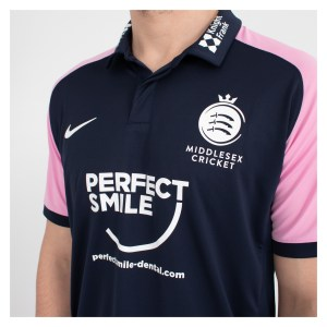MDX-Kitlocker Nike Middlesex Cricket SS One Day Polo