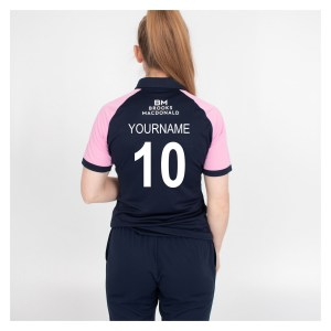 Womens Nike Middlesex Cricket SS One Day Polo