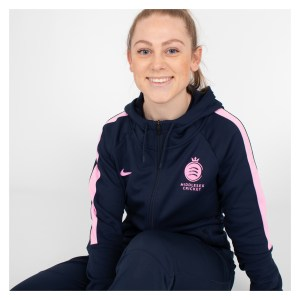 MDX-Kitlocker Womens Middlesex Cricket Full Zip Hoodie
